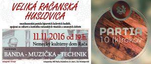 HUSLOVICA A 10 (K)ROKOV
