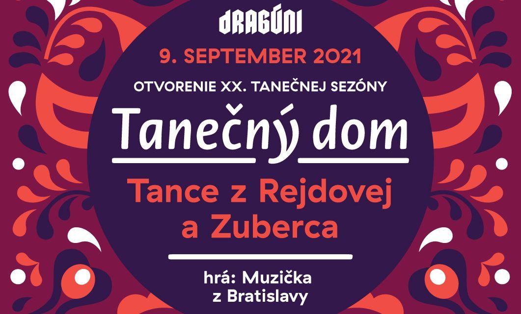 Tanečný dom s Rejdovcami! – v Umelke – 9.9.2021 – 19:30