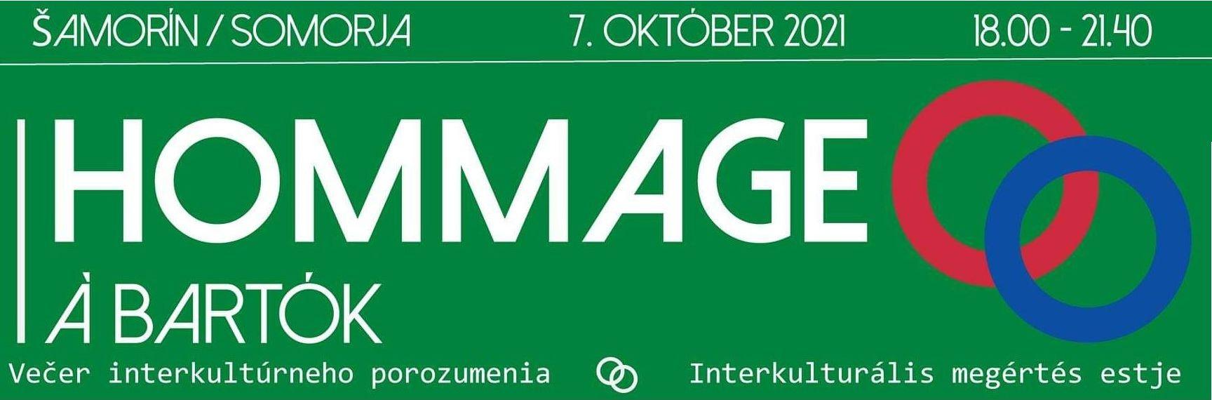 Hommage à Bartók – Šamorín – 7.10.2021 – 18:00